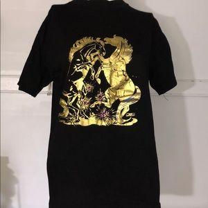 Tops - Golden horses T-shirt